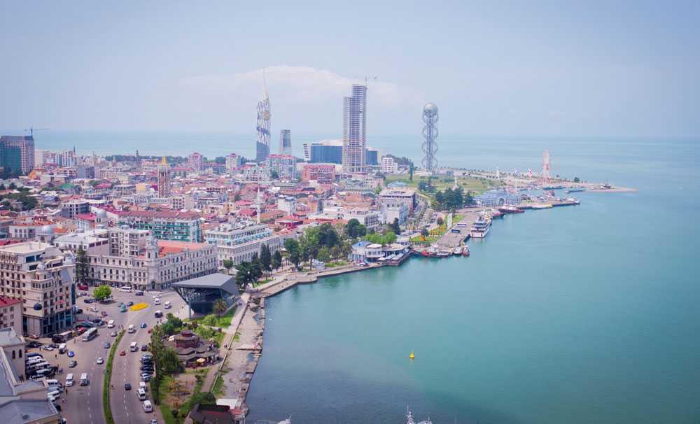 Batum'un plajları Akdeniz'i aratmıyor
