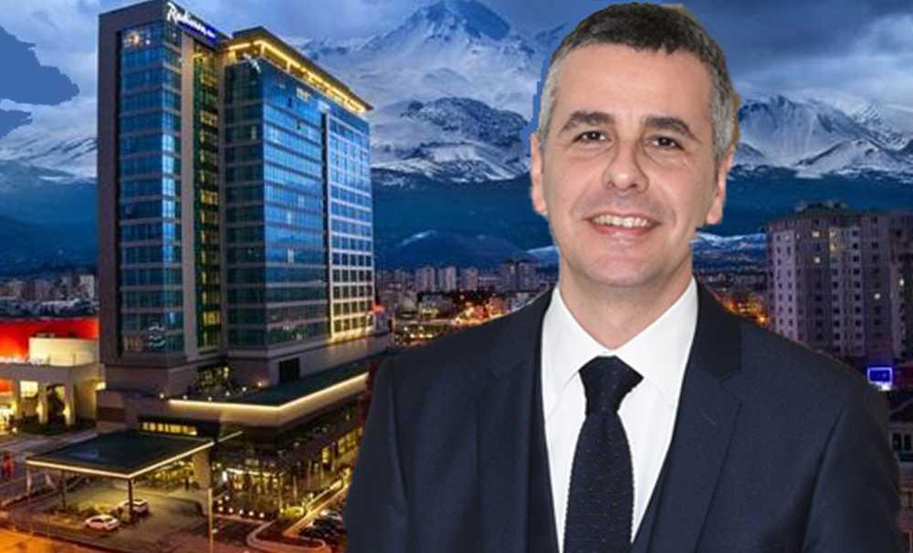 Burak Aydın, Radisson Blu Hotel Kayseri'nin Genel Müdürü oldu