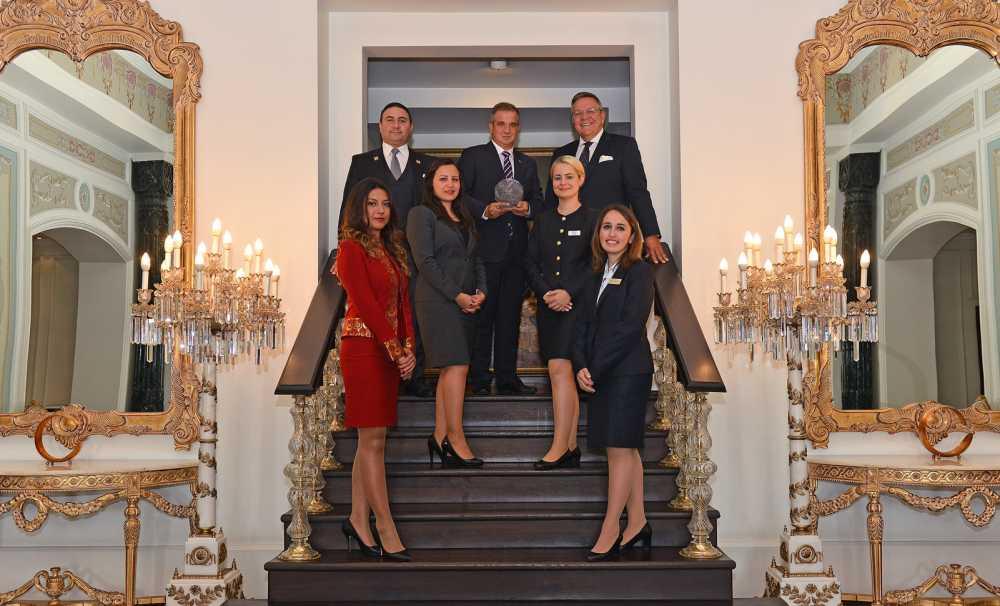 Çırağan Palace Kempinski'ye ödül yağıyor