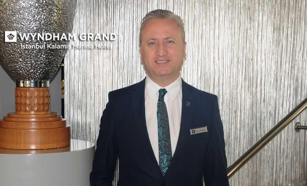 Deniz Dikkaya, Wyndham Grand İstanbul Kalamış Marina Hotel, Acente Dostu Otel olacak