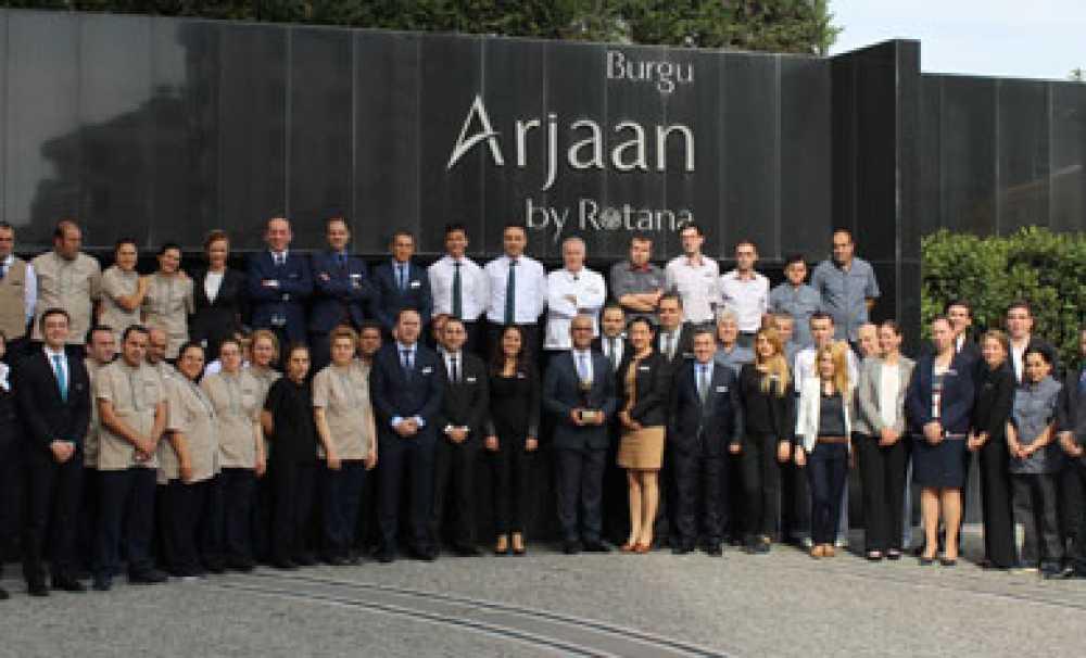 Dünya Seyahat Ödülleri Burgu Arjaan by Rotana'yı Ödüllendirdi