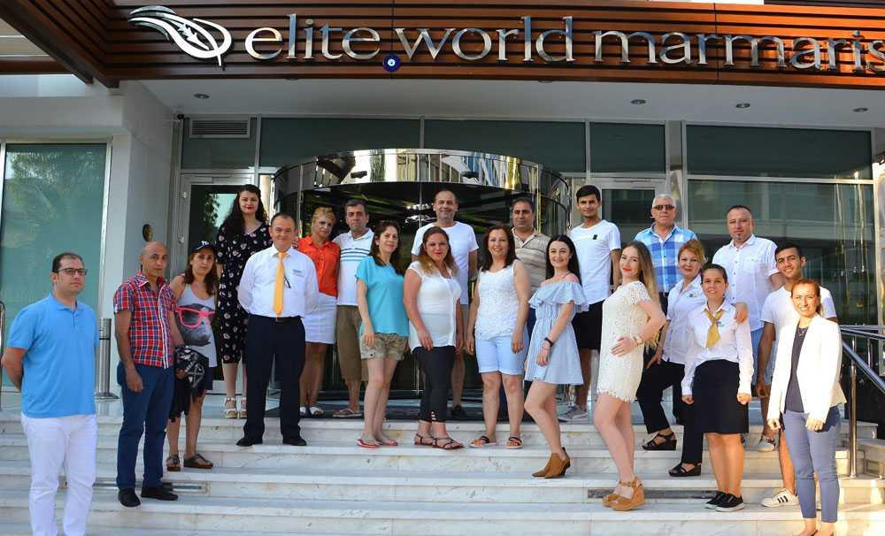 Elite World Hotels Çalışanları, Marmaris'te buluşuyor