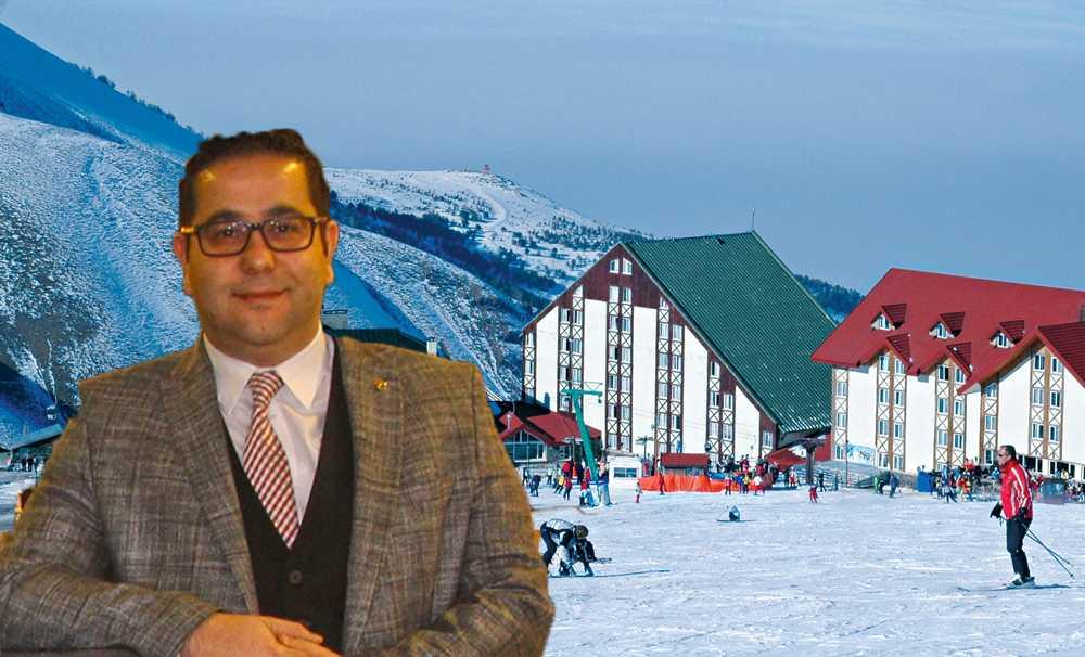 Erzurum'da düşen ilk kar kayak sezonunu başlattı!