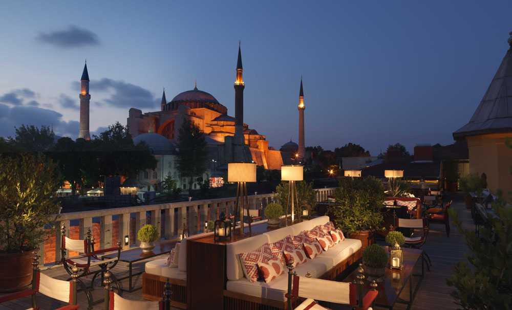 Four Seasons Hotel Sultanahmet En iyiler listesinde