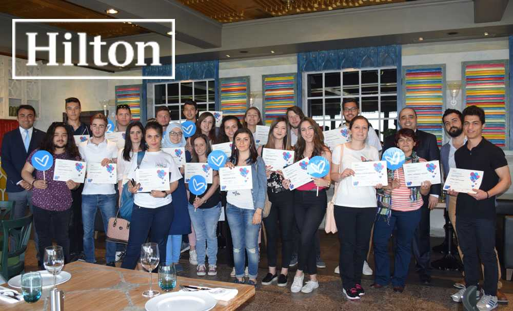 Hilton, sektörün profesyonellerini geleceğin turizmcileri ile buluşturdu