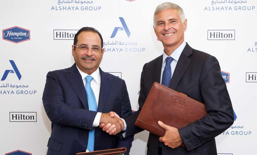 Hilton ve Alshaya Group, 70 Hampton by Hilton oteli için el sıkıştı