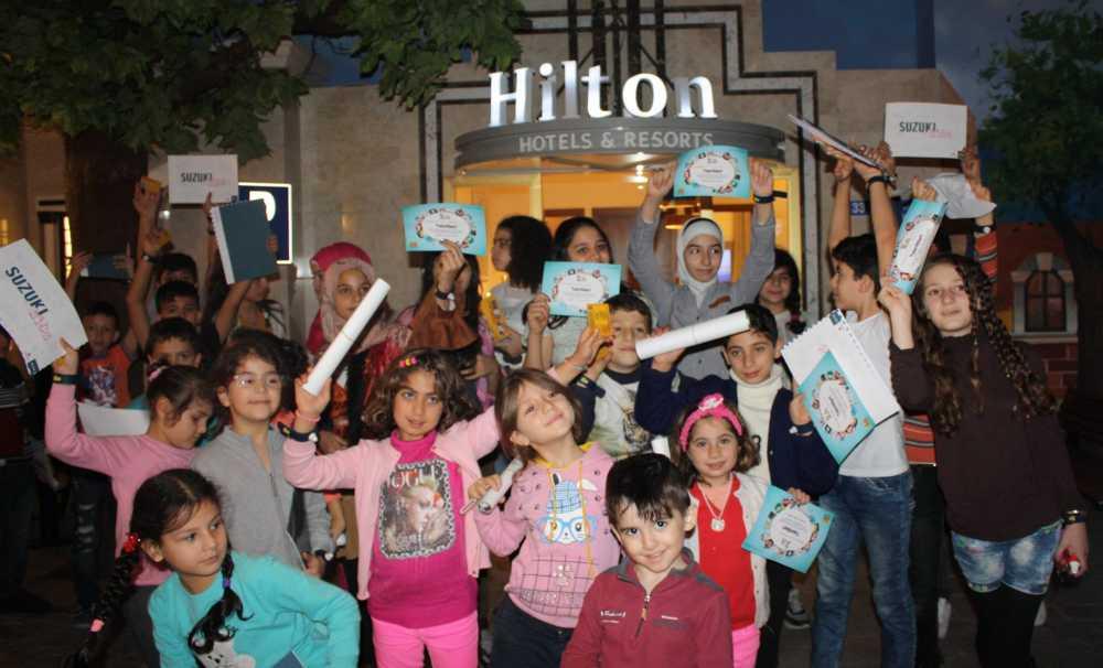 Hilton'un Her Yıl Gerçekleştirdiği Küresel Hizmet Ayı Programını Kutladı