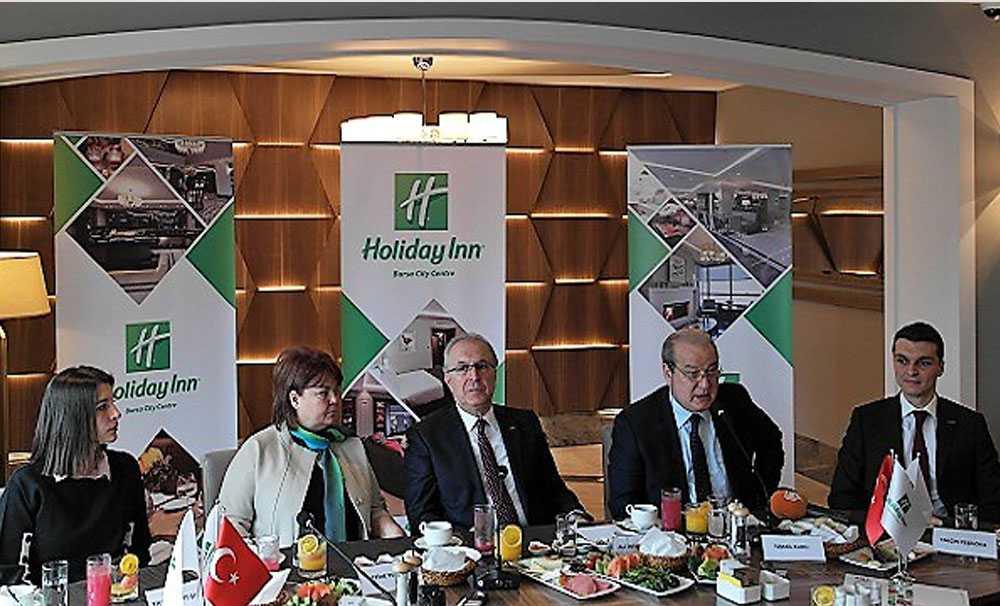Holiday Inn Bursa City Centre kapılarını açtı