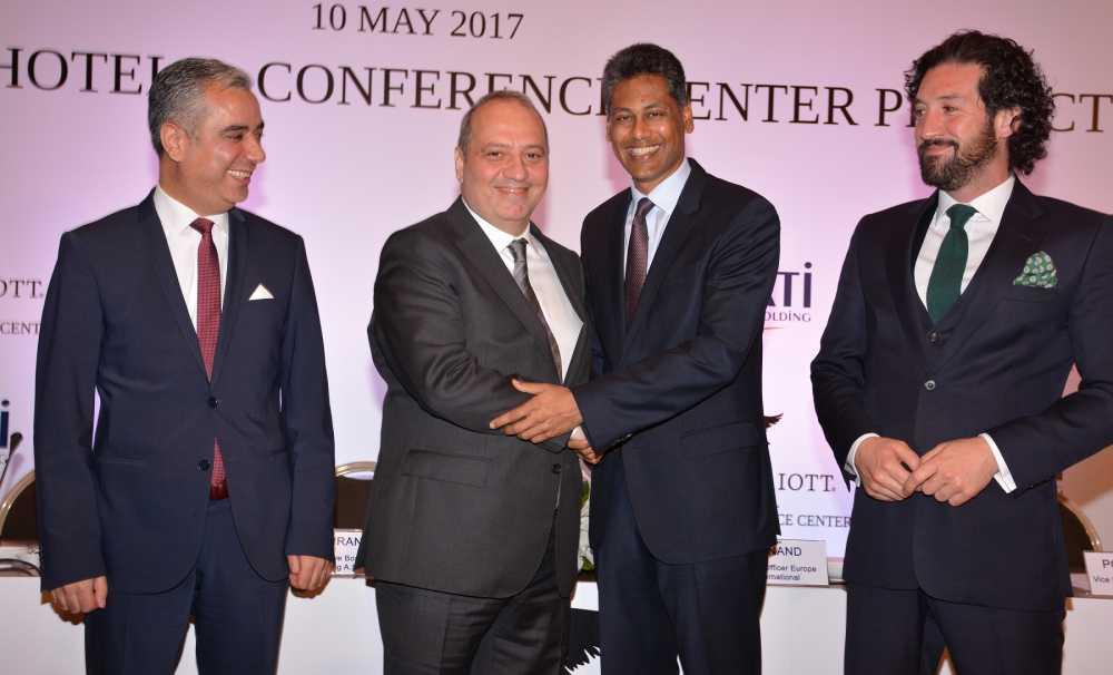 Marriott International ile DATİ Holding güçlerini birleştirdi
