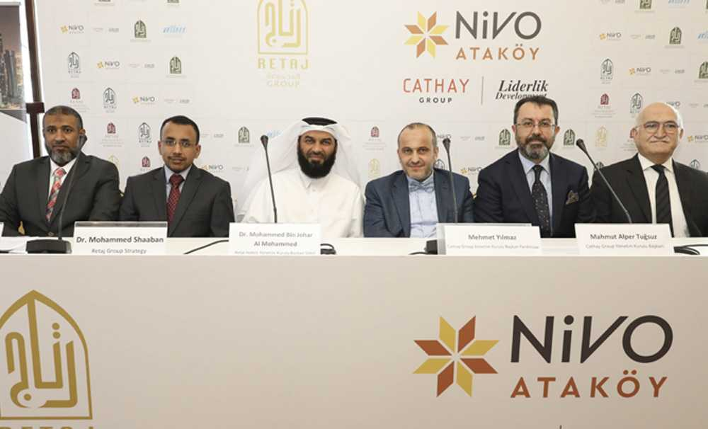 Nivo, Ataköy projesinde Katarlı Retaj Grup ile ortaklığa imza attı