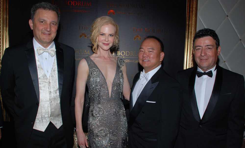 Otel açılışına Hollywood Yıldızı Nicole Kidman' da katıldı