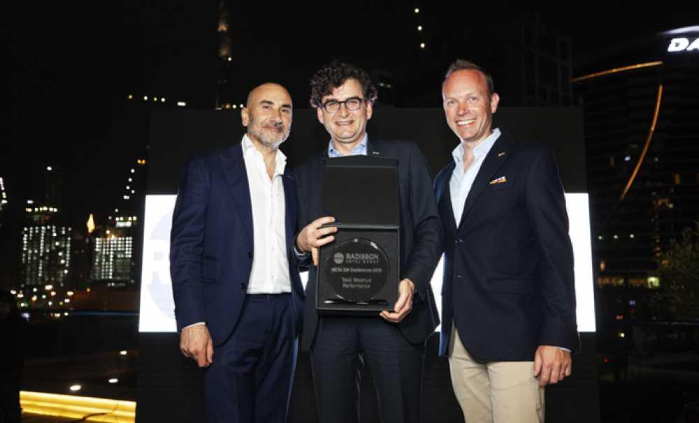 Radisson Blu Hotel & Spa İstanbul Tuzla, En İyi Toplam Gelir Performans Ödülünü Kazandı!