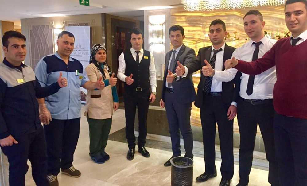 Real Konak Hotel Çalışanları Sigarayı Bıraktı