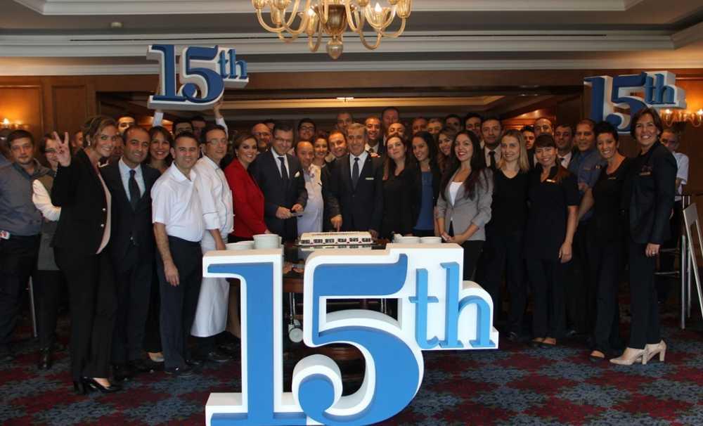 Ritz Carlton, İstanbul 15.yılını kutluyor