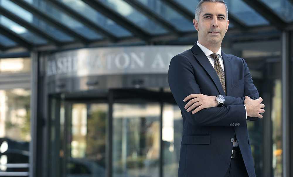 Sheraton Ankara Hotel'in yeni Genel Müdürü Sinan Köseoğlu görevine başladı