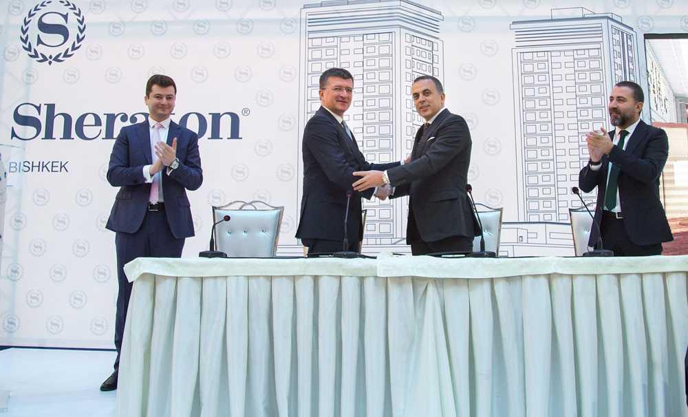 Sheraton Bishkek Hotel açılışına gün sayıyor