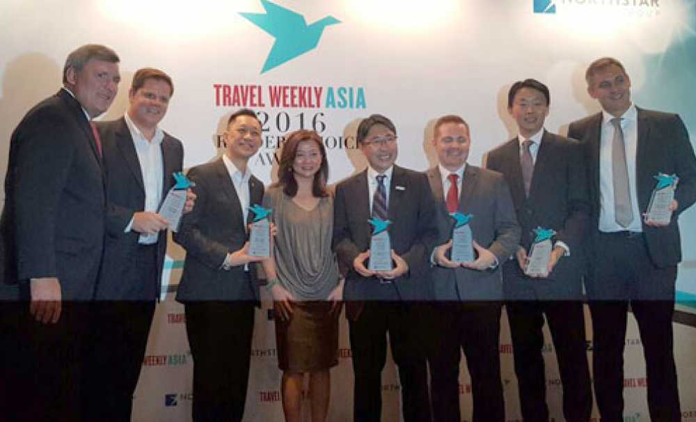 "TOURİSM EXCLUSİVE  Hotelbeds wins ""Best Online Travel Wholesaler"" at Travel Weekly Asia's 2016 Readers Choice Awards"