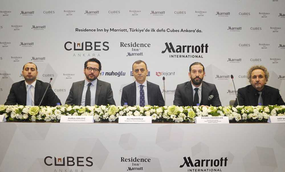 Türkiye'deki ilk Residence Inn By Marriott Oteli Cubes Ankara'da Açılacak