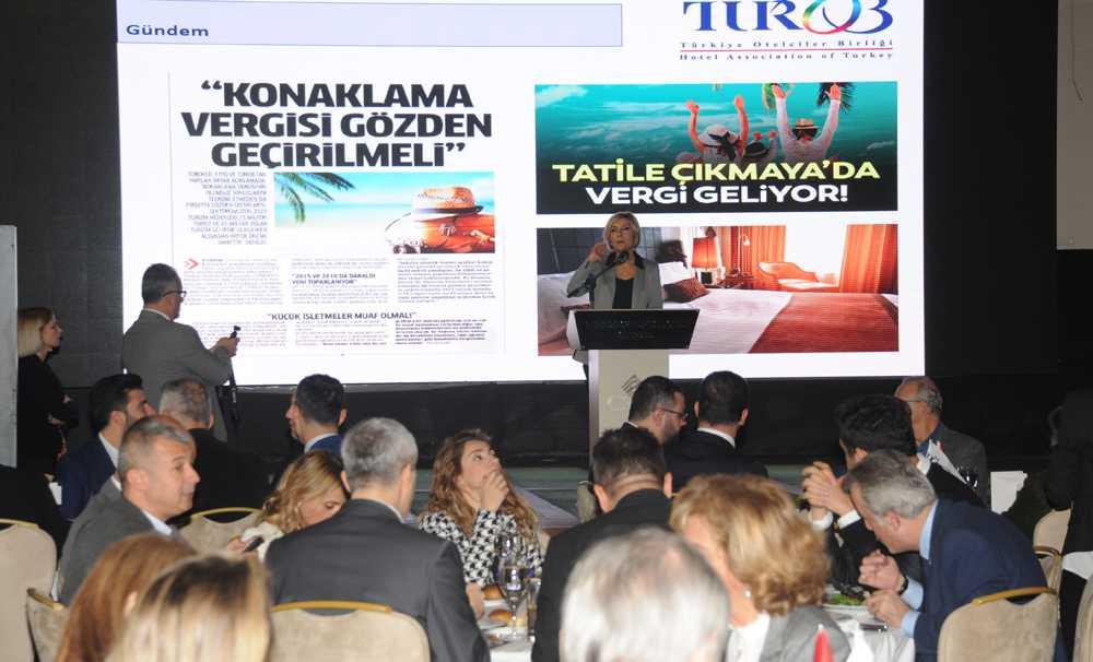 TÜROB üyeleriyle CVK Park Bosphorus Hotel'de buluştu