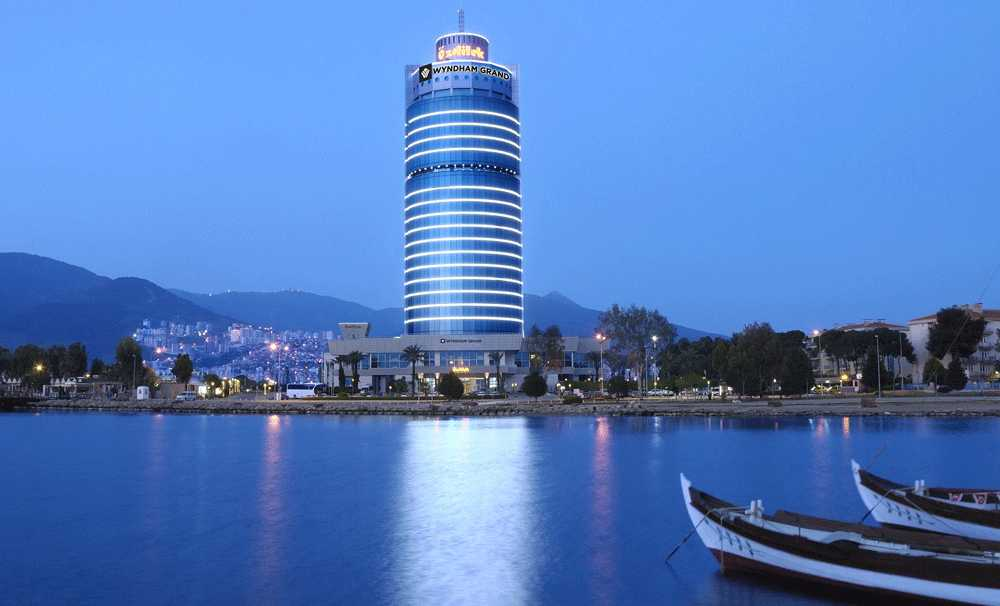 "Wyndham Grand İzmir'e ""Best Of Wyndham Grand "" ödülü"