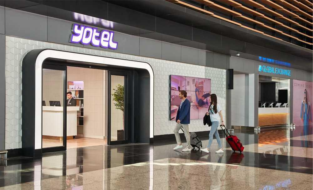 YOTEL, İstanbul Havalimanı'nda güvenli seyahatin ve konforun adresi