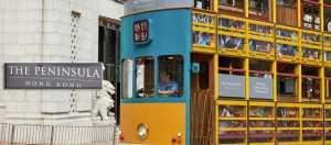 "Nostaljik ""Ding Ding"" tramvayı The Peninsula hizmetinde"