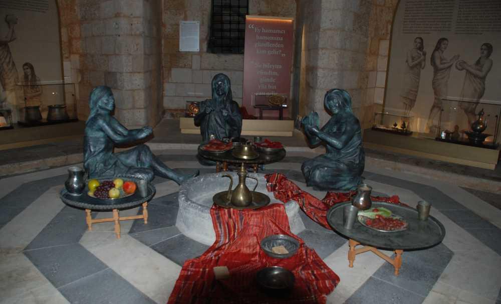 Gaziantep Hamam Müzesi 2 yıl öncesine kadar aktif olarak kullanıyordu