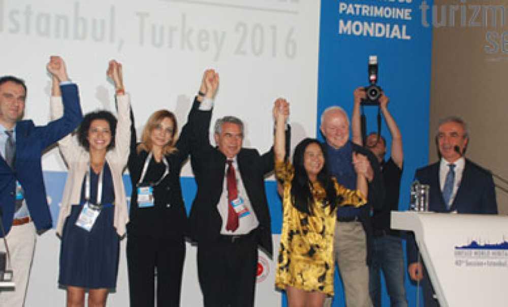 UNESCO Dünya Miras Komitesi 40. oturumu, İstanbul Kongre Merkezi'nde başladı