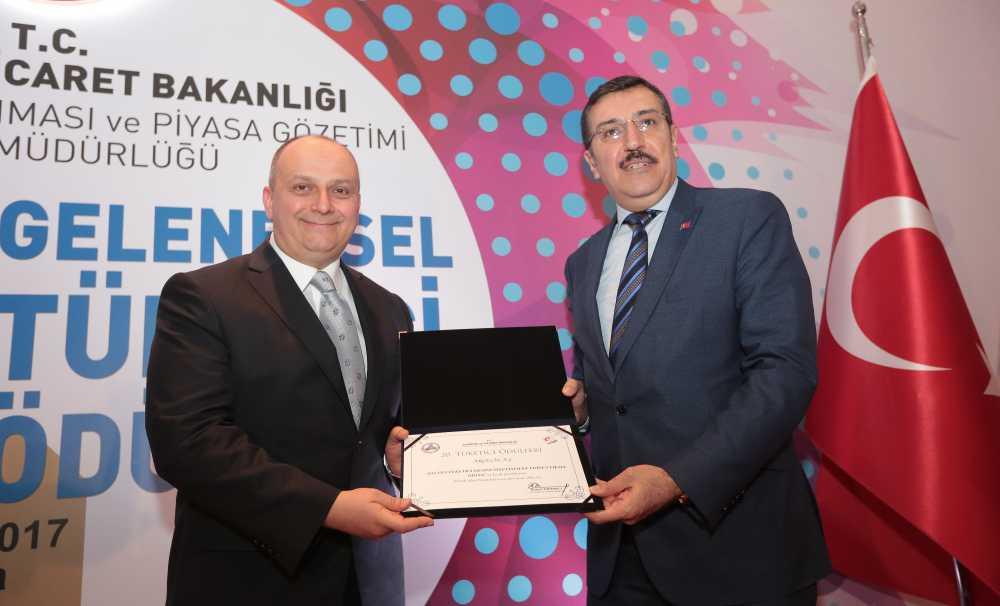 Gümrük ve Ticaret Bakanlığı'ndan Arçelik A.Ş.'ye Ödül