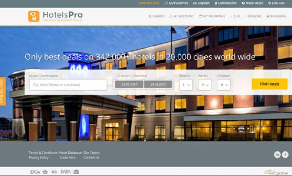 HotelsPro yeni arayüzünü acentelere sundu