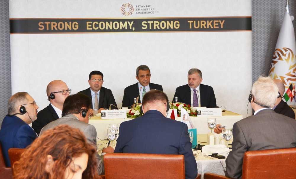İTO Başkanı İbrahim Çağlar,başkonsoloslara önemli mesajlar verdi