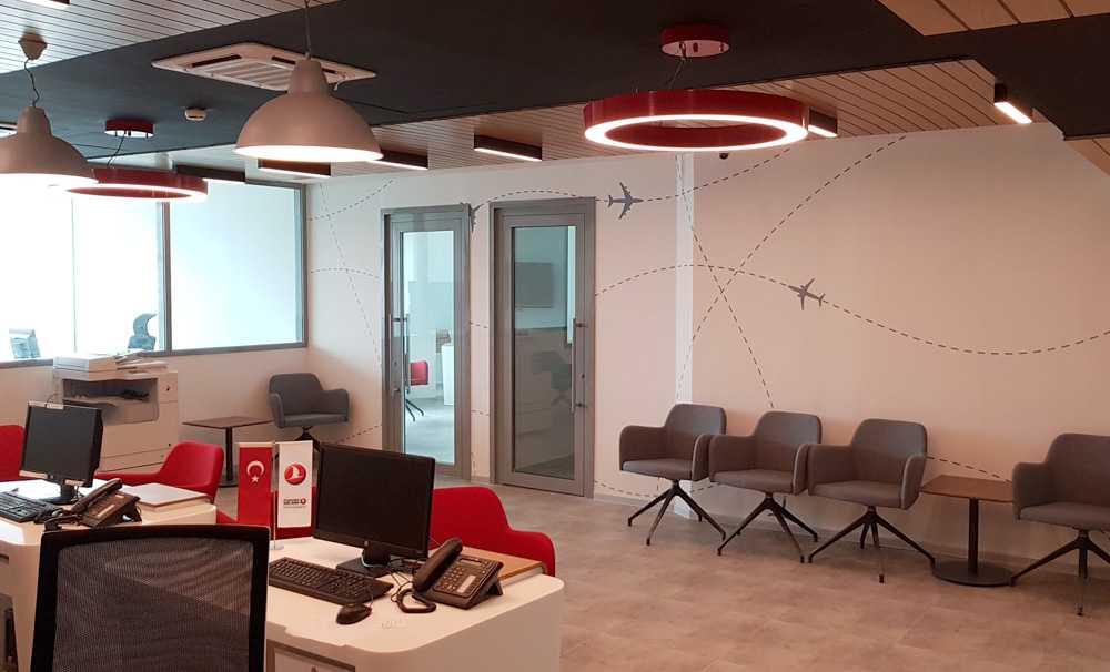 Kayı İnşaat Türk Hava Yolları'nın Cezayir'deki Ofis İnşaatını Tamamladı