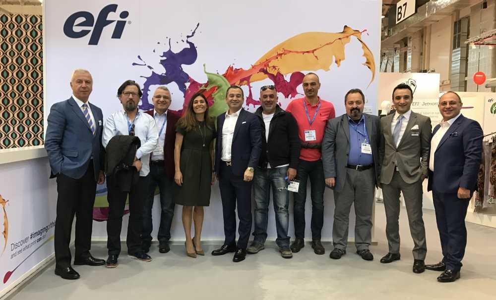 Lidya Grup, FESPA 2017 Fuarı'nda yoğun ziyaretler yaptı