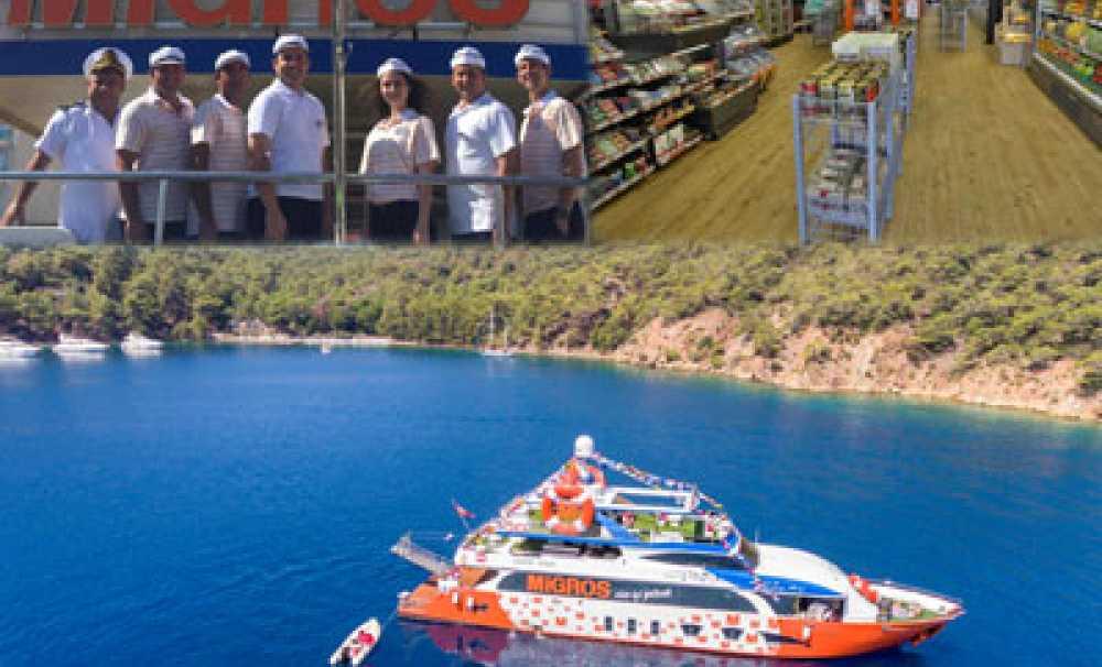 Migros, perakende sektöründeki 62 yıllık deneyimini şimdi de denizlere taşıyor