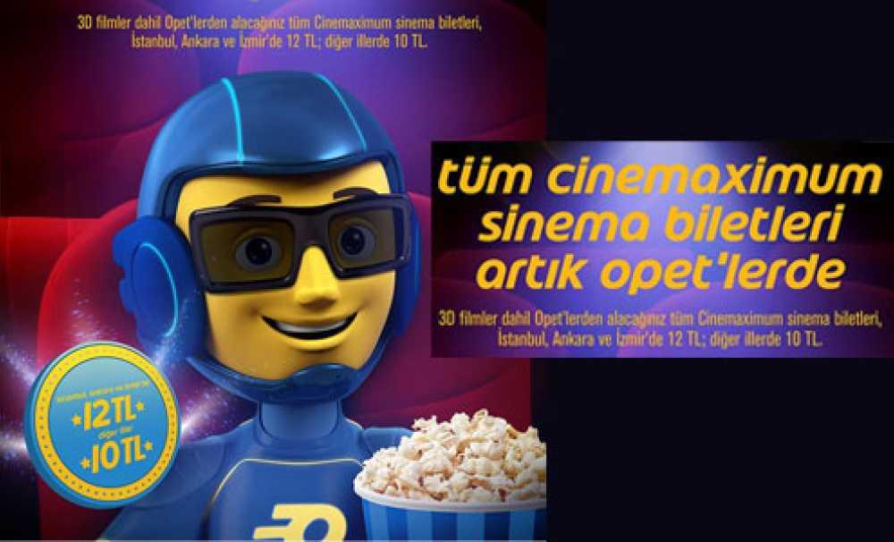 """OPET ve Cinemaximum'dan""""Sinema Devrimi"""""""