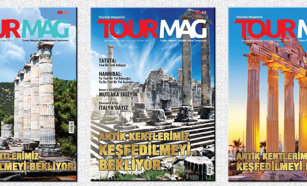 TOURMAG Turizm Dergisi'nin yeni sayısı raflarda yerini aldı