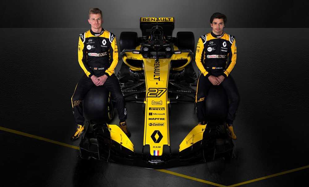 Renault Sport Formula 1 Takımı2018'de yarışacağı yeni aracını tanıttı