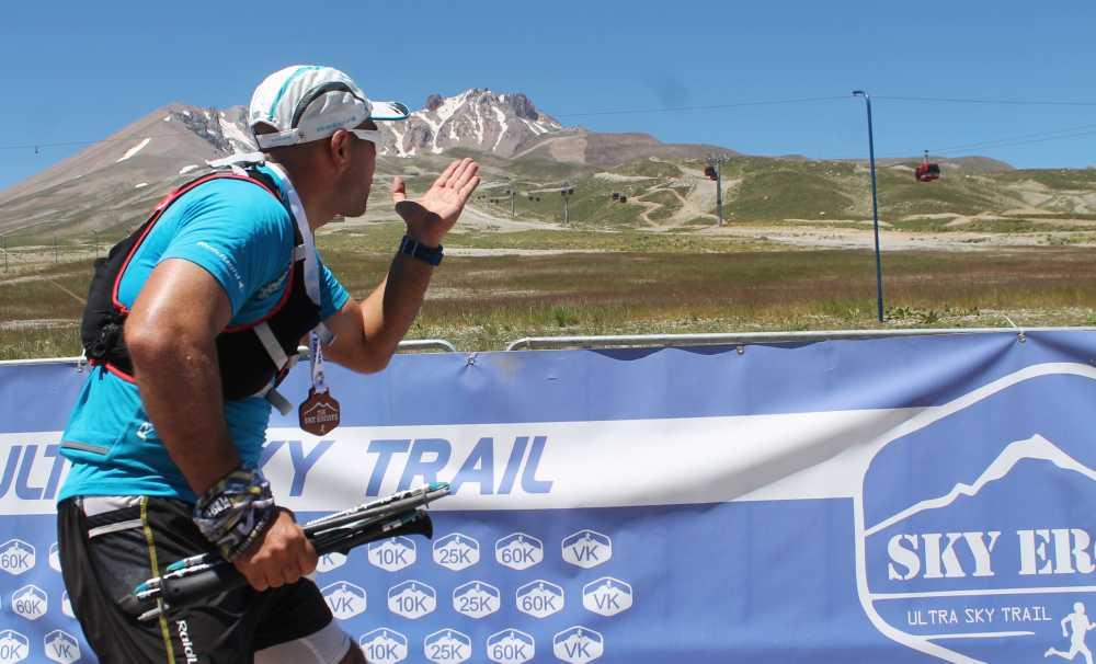 12 Ülkeden 200 atlet Erciyes'in volkanik tepelerinde koşacak