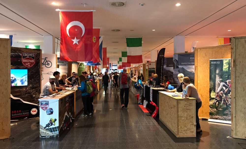 'Erciyes' Dünyanın en büyük bisiklet fuarı Eurobike'ta tanıtıldı