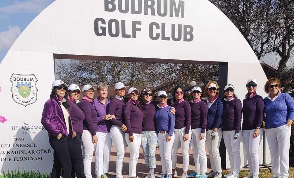 Kadınlar Gününe özel Golf Turnuvası