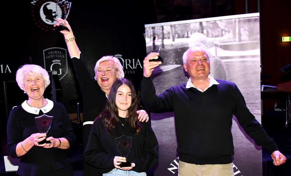 Nuri Özaltın Golf Turnuvası Ödülleri Sahiplerini Buldu