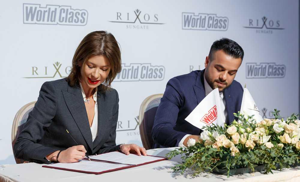 Rixos Hotels ve World Class'tan global ortaklık