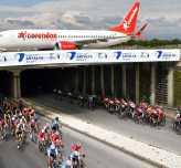 Corendon Uçağı Bu Seferde Tour Of Antalya'dan Geçti!