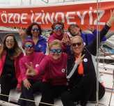 Deniz tutkunu 3 kadın barış için Bodrum'dan Samsun'a yelken açıyor