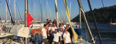 Pegasus Sailing ekibi, Özcan Özyemişçi Kupası'nda birinci oldu