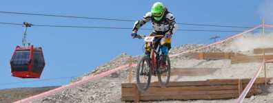 Uluslararası Dağ Bisikleti Kupası Heyecanı Erciyes'te