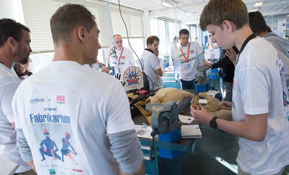 Airbus Group engelliler için yenilikçi çözümler geliştirilmesini destekliyor