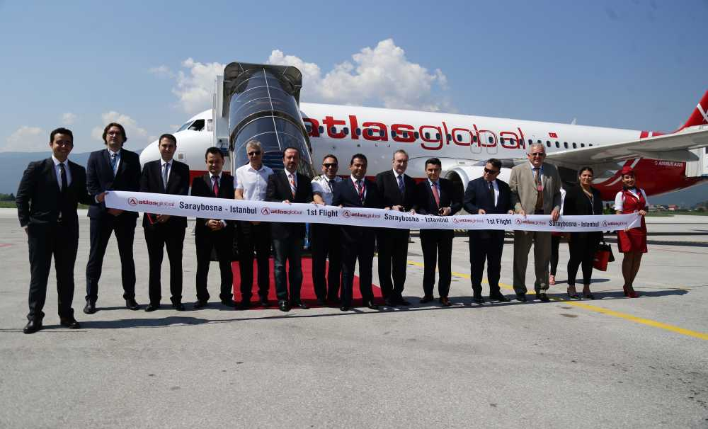 Atlasglobal'in Saraybosna Uçuşları Başladı