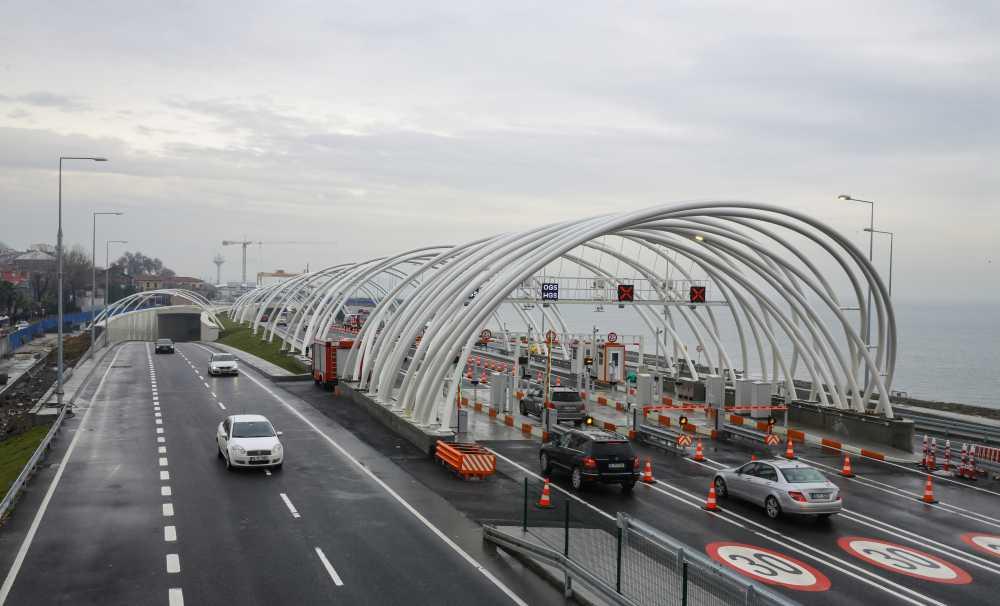 Avrasya Tüneli'nden Geçen Araç Sayısı 1 Milyonu Aştı