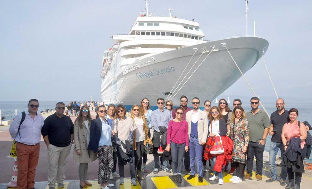 Avrupalı liman yöneticileri, Kuşadası Limanı'nda eğitim aldı
